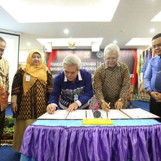 MK RI Jalin Kerjasama Dengan UMSU