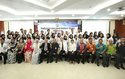 FK UMSU Yudisium 100 Dokter Muda
