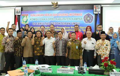 Benahi RSUD, Anggota DPRD Kampar Minta Dukungan FK UMSU