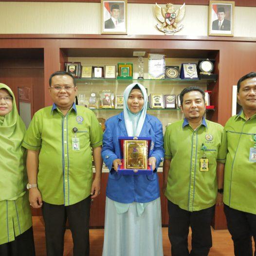 Mahasiswi UMSU Duta Nasional Pilmapres 2018