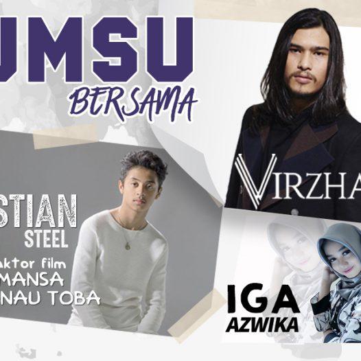 "Virza dan Bastian 'Romansa Danau Toba"" Meriahkan Launching Penmaru UMSU"