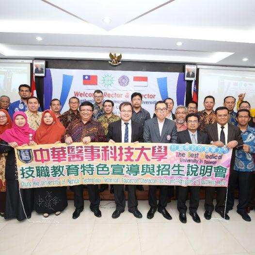 UMSU Tuan Rumah Penguatan PTM  Dengan Universitas Taiwan