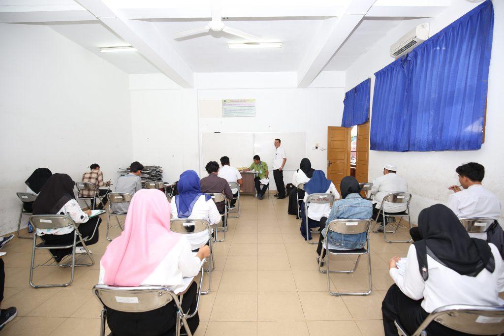 ujian masuk penerimaan mahasiswa baru (Penmaru) UMSU gelombang II tahun 2018