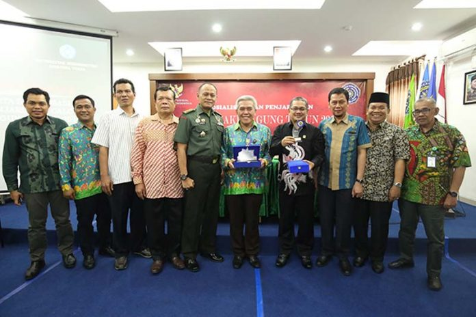 Komisi Yudisial (KY) menggelar acara Sosialisasi dan Penjaringan Calon Hakim Agung (CHA) Tahun 2018 di Aula Gedung Pascasarjana Universitas Muhammadiyah Sumatera Utara (UMSU), Jumat